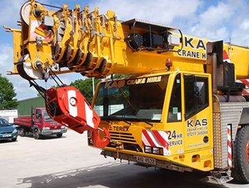 Large Scale Commercial Crane Hire