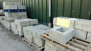 OPC Grey Precast Concrete C50 mix