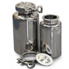 316L Stainless Clamp Top Bottles
