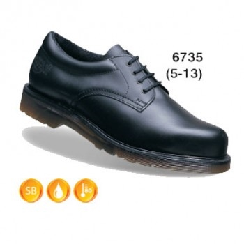 Dr Martens Leather Padded Ankle Safety Shoe