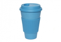 Coffee Cup - Blue with Blue Silicone