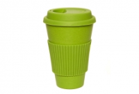 Coffee Cup - Green with Green Silicone