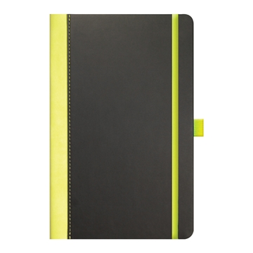 Contrast Notepad with coloured spine