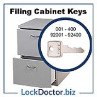 20a1d58af6f Replacement Metal Filing Cabinet Key 92225 (225 on the lockface ...