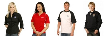 Embroided Company Work Wear with logo