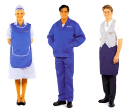 Uniforms with logo