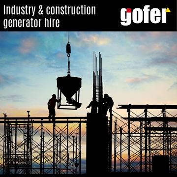 Industry and Construction Generator Hire