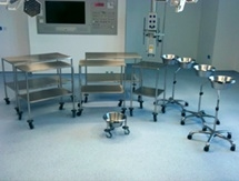 Stainless Steel Healthcare Trolley Manufacturer
