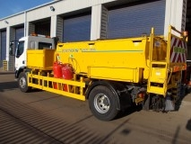 18 Tonne GVW Hot Box with Side Tipper Body