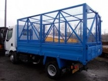 7.5 Tonne GVW Tipper with Cage