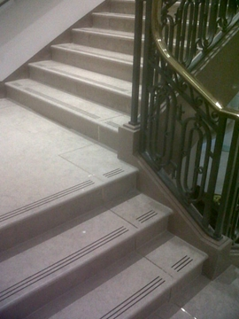 Internal Staircase Anti-Slip Strips Application Specialist Services - Witham, Essex