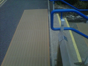 External Staircase Thermo Plastic Tactile Surfacing Application Specialist Services - Witham, Essex
