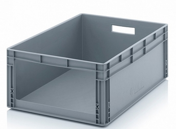 64L Extra Strong Open Fronted Order Picking Stacking Ventilated Plastic Boxes