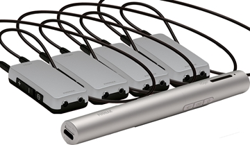 4 Pack - Portable RF Induction Loop System
