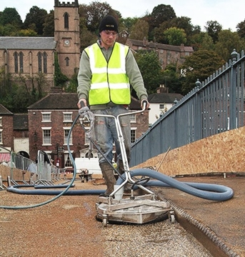 Water Recycling Pressure Washer