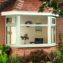 Coloured PVCU Double Glazed Window Frames