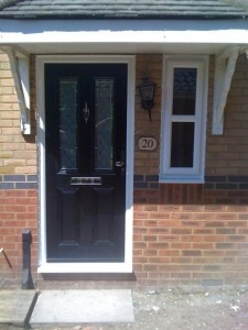 UPVC Double Glazed Replacement Front Doors
