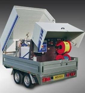 Trailer Mounted Pressure Washer Hire
