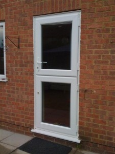 UPVC Double Glazed Replacement Back Entrance Doors