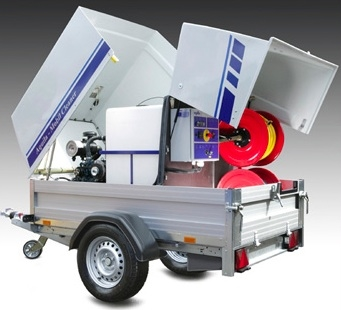 Industrial Trailer Mounted Pressure Washer Machine