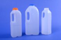 Natural Polyethylene Dairy Bottles