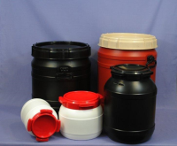 Plastic Wide Neck Drums