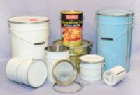 Full Aperture Tapered Tin Plate Pails