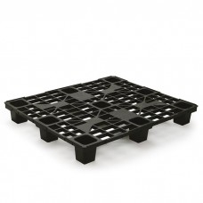 Black Recycled Plastic Pallet