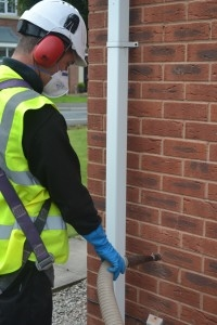 Commercial Cavity Wall Insulation Systems