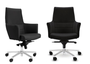 Manager Leather Seating Ranges - Venice Armchair