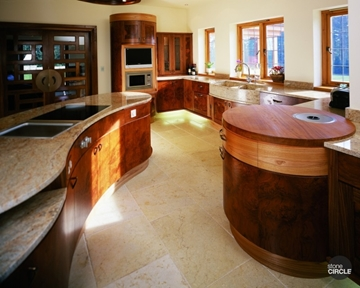 Stone Kitchen Worksurfaces for Countertops and Island Units