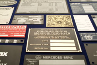 Chemically Etched Plaques