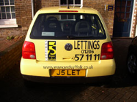 Company Vehicle Graphics