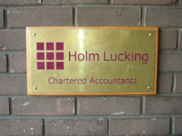 Chemically Etched Stainless Steel Plaques