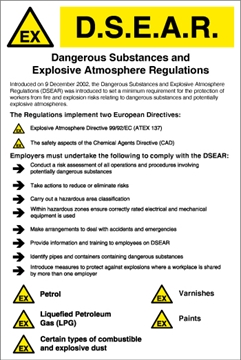 Drawings for DSEAR regulations