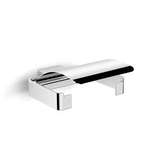 Fluid Toilet Roll Holder with Cover 130 x 150 x 50 mm