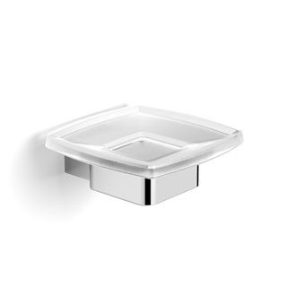 Fluid Wall Mounted Soap Dish and Holder 120 x 130 x 50 mm