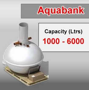 Clearwater Aquabank – Rainwater Harvester