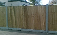 Closeboard/Featheredge Fencing