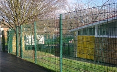 Steel Palisade Fencing Supplied and Installed