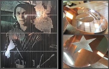 Laser Cutting for Shelving, Display Cabinets, Point of Sale