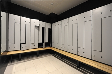 Oracle Z-Lockers for Changing Areas