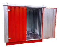 Flat Pack Chemical Stores