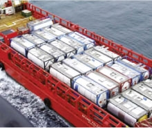 Offshore tank containers