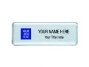 25x76mm ID Name Badges Reusable