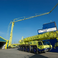 Folding Tower Crane Hire