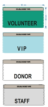 VIP Ribbons for meetings and events