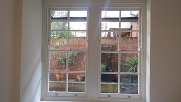 Double-Glazed Sashes and Window Repair