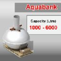 1000 - 6000 Ltr Clearwater Aquabank - Rainwater Harvester