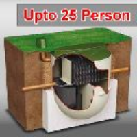 25 PERSON - CLEARWATER BIOTEC SEWAGE TREATMENT SYSTEM